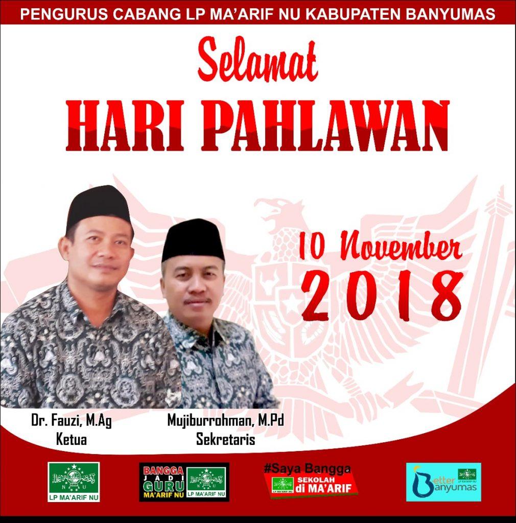 Selamat Hari Pahlawan 10 November 2018