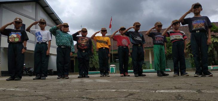 Barung Putra MI Ma'arif NU Sokawera Siap Berlaga di Pesta Siaga Jawa Tengah Binwil Banyumas