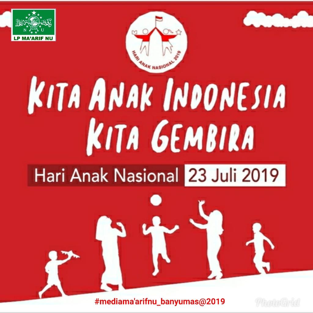 Hari Anak Nasional 2019