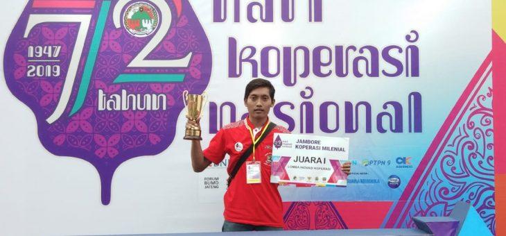 Guru SMP Ma'arif NU 1 Ajibarang Raih Juara I Nasional Inovasi Koperasi