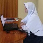 Madrasah Tsanawiyah Ma'arif NU di Banyumas Terapkan Ujian Online